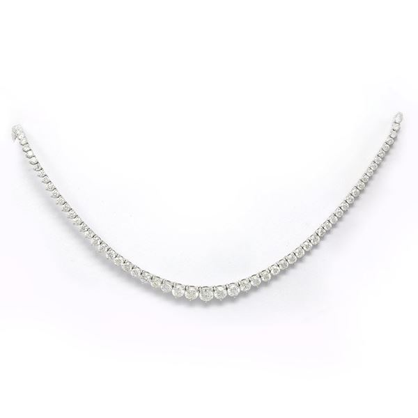 صورة Diamond Riviere Necklace