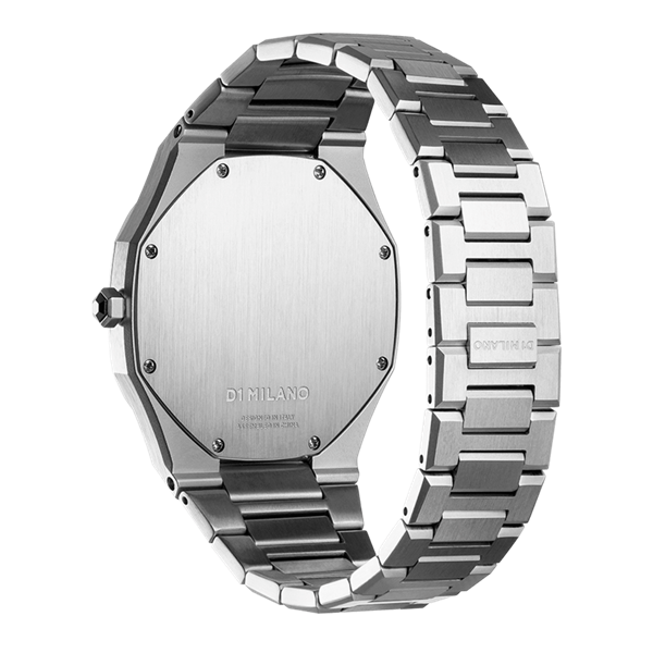 Stainless Steel Ultra Thin 40mm Back Side View