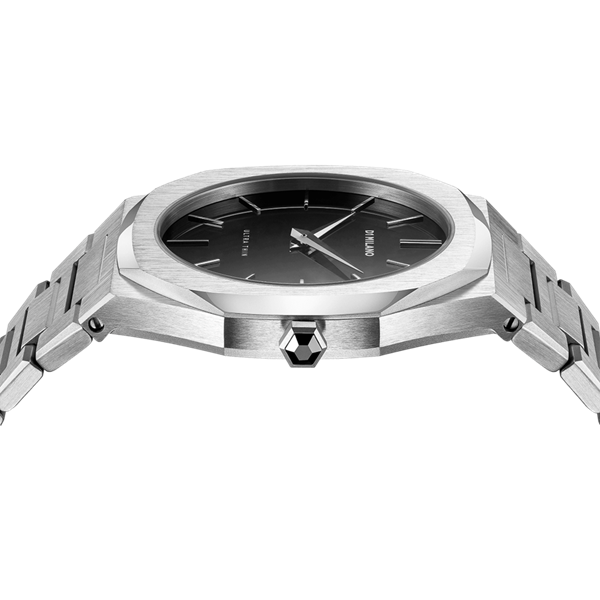Stainless Steel Ultra Thin 40mm Top View