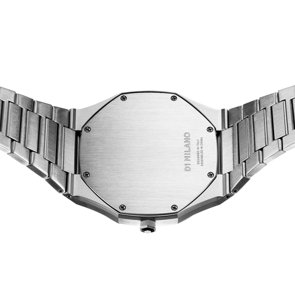 Stainless Steel Ultra Thin 40mm Back View