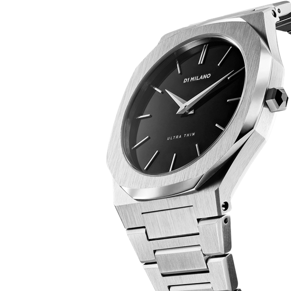 Stainless Steel Ultra Thin 40mm Side View