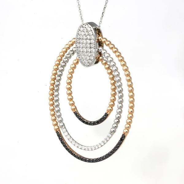 Picture of Diamond Swirl Pendant