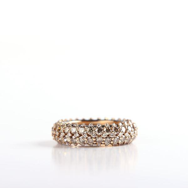 صورة Dallago Brown Diamond Ring