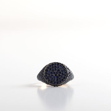 Picture of Sapphire Pinky Ring