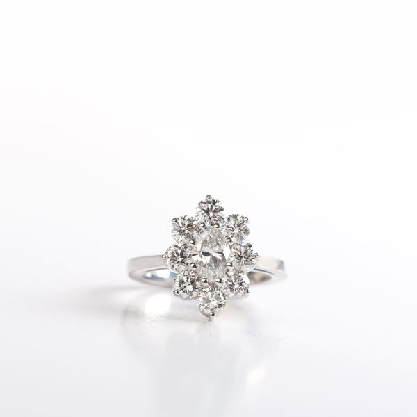 Picture of The Marquise Ring