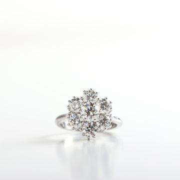 Picture of The Flower Diamond Ring