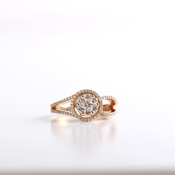 Picture of The Rose-Gold Illusion Ring