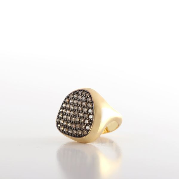 Picture of Brown Pinky Ring