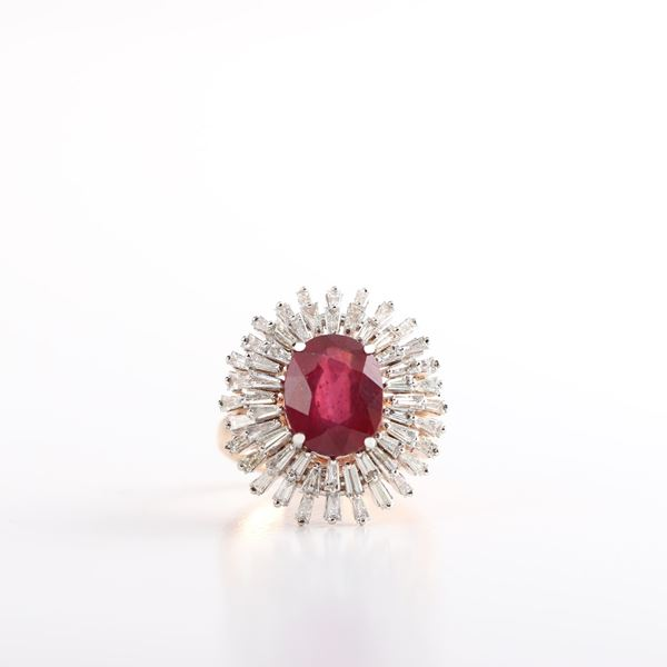 صورة Ruby Diamond Ring