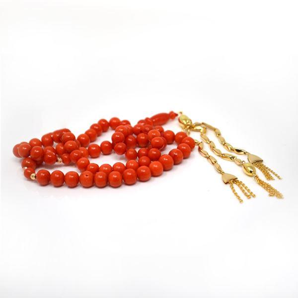صورة Coral Prayer Beads
