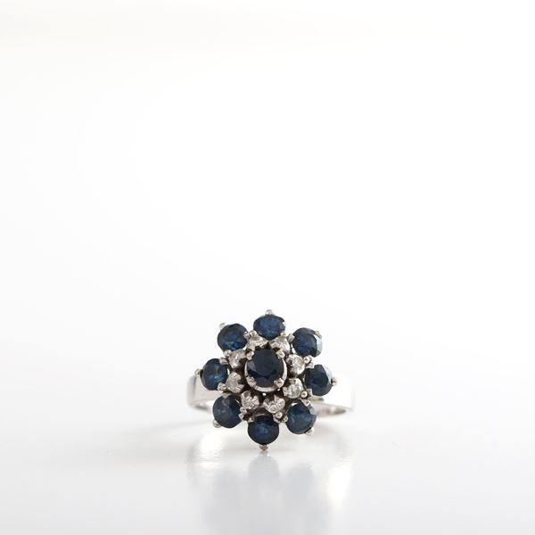 Picture of Vintage Sapphire Ring