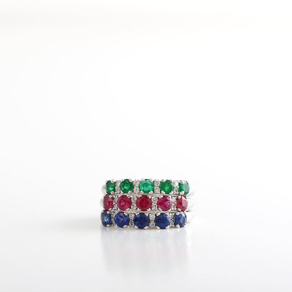 Picture of Ruby & Diamond Ring
