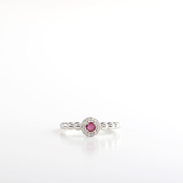 صورة Ruby & diamond Ring