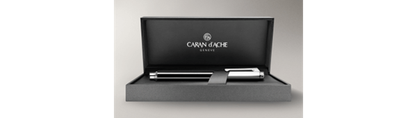 Picture of SILVER-PLATED, RHODIUM-COATED VARIUS CHINA BLACK ROLLER PEN