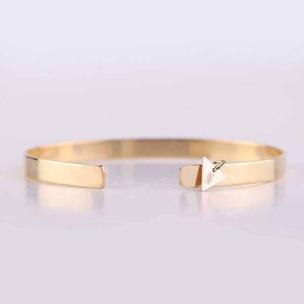 J.R.S. Shiny&Matte  Bangle Bracelet Back View