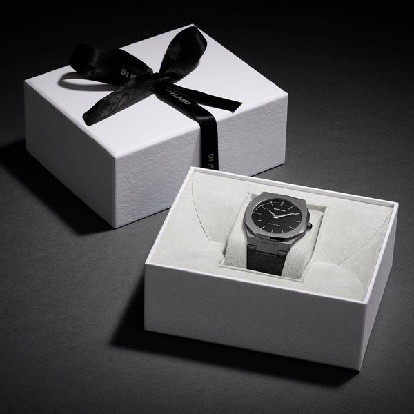 All Black Ultra Thin 40 mm In Box