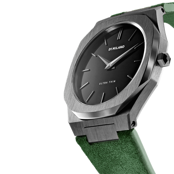Green Band Ultra Thin 40 mm Front View