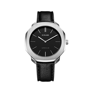 Black&Silver Super Slim 36 mm Front View