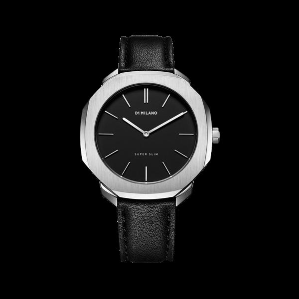 Black&Silver Super Slim 36 mm Front View
