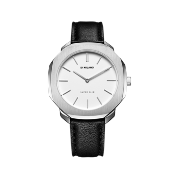 White&Silver Super Slim 36mm Front View