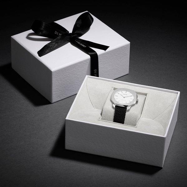White&Silver Case Super Slim 36mm In Box