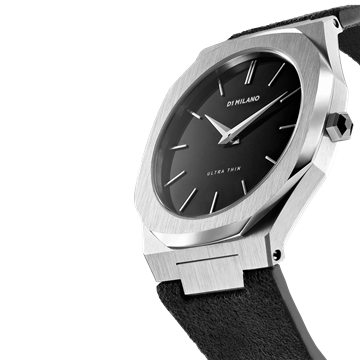 Black Band Ultra Thin 40 mm Front View