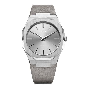 Grey Ultra Thin 38 mm Front View
