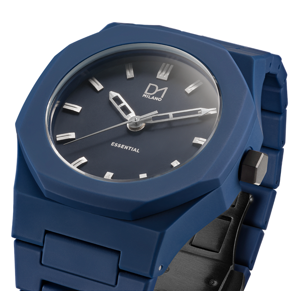 Blue&Silver Essential Polycarbon 40.5 mm Side View
