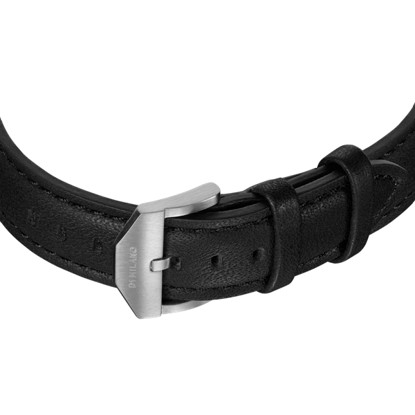 Black&Silver Super Slim 41 mm Band View