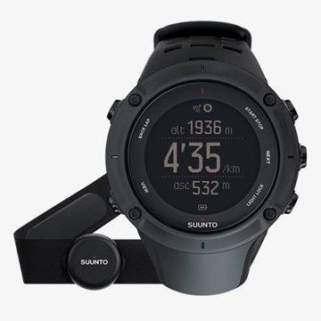 Ambit 3 Peak Black(HR) Front View