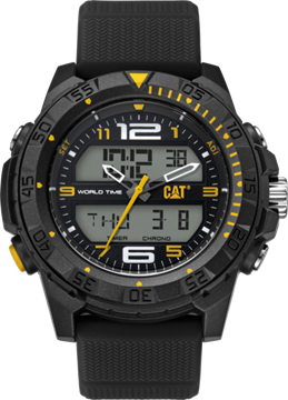 Basecamp Black Yellow Front View