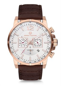 Wrist Watch Rose Gold Case Front View