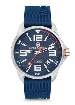 Streamline Blue Strap&Dial Front View