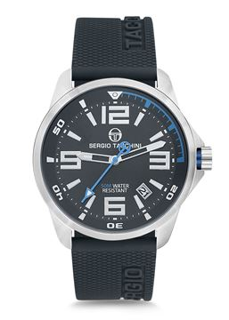 Streamline Silver&Navy Dial Front View