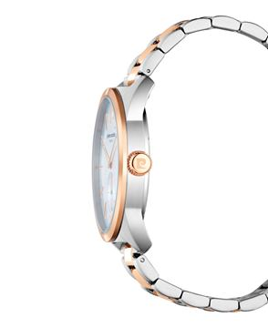 Corvisart Two Tone Stainless Steel Bracelet Front View