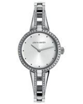 Ladies Stainless Steel With zircon Front View